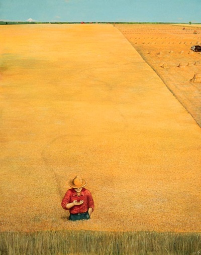 William Kurelek, The Ukranian Pioneer No. 6, 1971-76. Collection of the National Gallery of Canada, Ottawa.