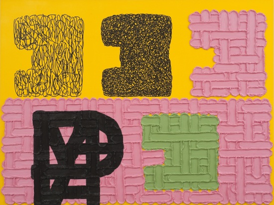 Jonathan Lasker, An Image of the Self, 2009.