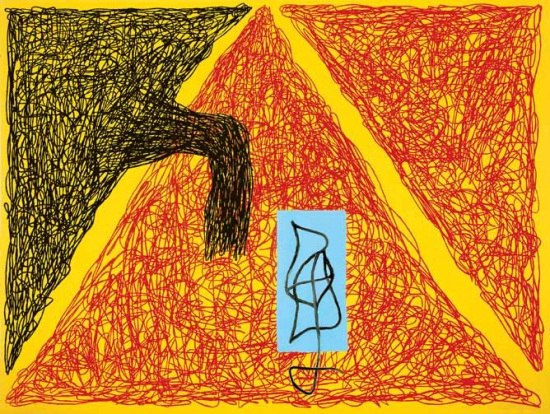 Jonathan Lasker, Born Yesterday, 1989.