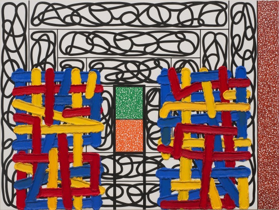Jonathan Lasker, The Inability to Sublimate, 2009.