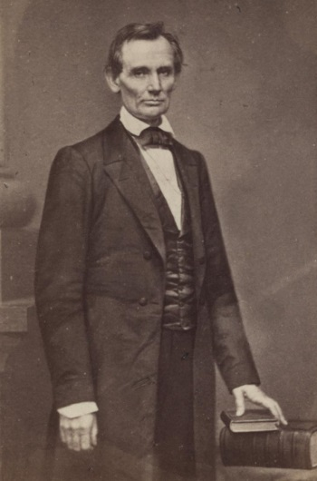 Matthew Brady, Abraham Lincoln, February 27, 1860 [the Cooper Union portrait]. Collection of the Library of Congress, Washington.