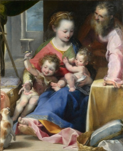 Barocci, Madonna of the Cat, ca. 1575. Collection of the National Gallery, London.