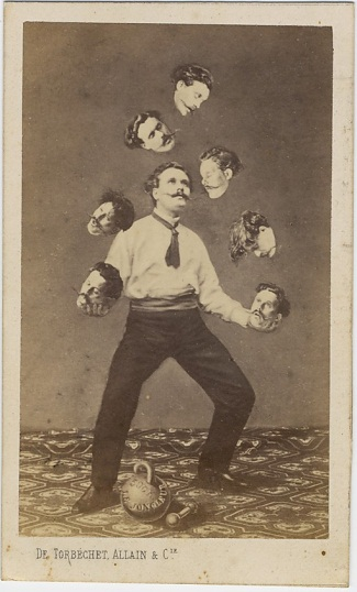 Saint Thomas de Aquin, [Man Juggling His Own Head], ca. 1880.
