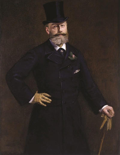 Edouard Manet, Portrait of Antonin Proust, 1880. Collection of the Toledo Museum of Art.