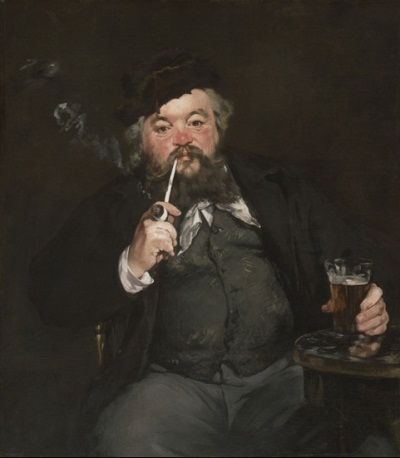 Edouard Manet, Le Bon Bock, 1873. Collection of the Philadelphia Museum of Art.