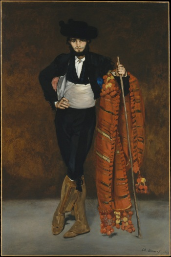 Edouard Manet, Young Man in the Costume of a Majo, 1863. Collection of the Metropolitan Museum of Art, New York.