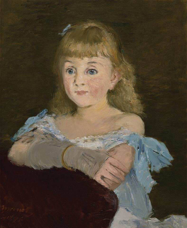 Edouard Manet, Portrait of Lise Campineanu, 1878. Collection of the Nelson-Atkins Museum of Art, Kansas City, Mo.