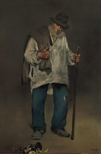 Edouard Manet, The Ragpicker, c. 1865-70. Collection of the Norton Simon Museum, Pasadena, Calif.