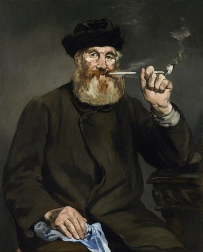 Edouard Manet, The Smoker, 1866. Collection of the Minneapolis Institute of Arts.