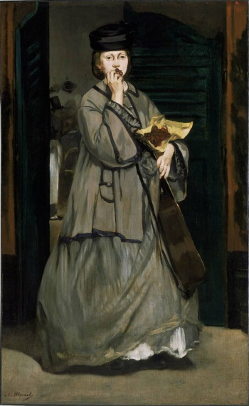 Edouard Manet, Street Singer, c. 1862. Collection of the Museum of Fine Arts, Boston.