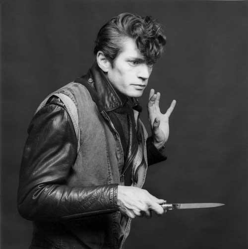 Robert Mapplethorpe, Self-Portrait, 1980.