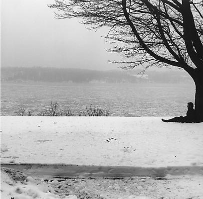 Robert Mapplethorpe, Winter Landscape, 1979.