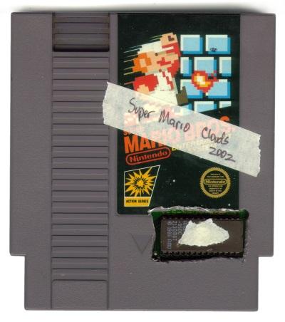 Cory Arcangel, Super Mario Clouds, 2002-.