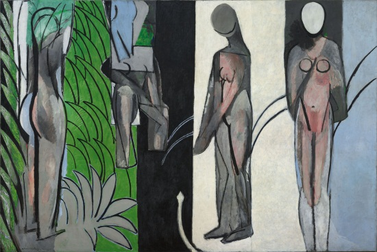 Henri Matisse, Bathers by a River, 1909, 1913, 1916. Collection of the Art Institute of Chicago.