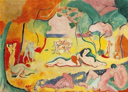 Henri Matisse, Le Bonheur de vivre, 1905-06.