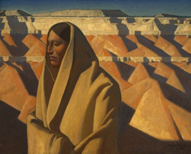 Maynard Dixon, Earth Knower, 1935. Collection of the Oakland Museum of California.