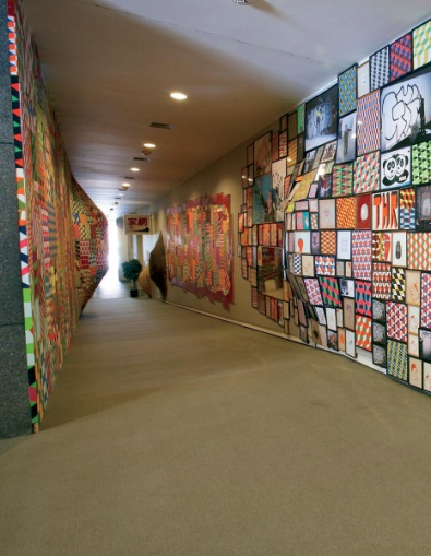Installation shots from Barry McGee's installation at the 2008 Carnegie International.