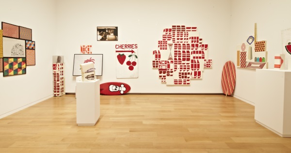 Barry McGee, installation view at the Modern Art Museum of Fort Worth.