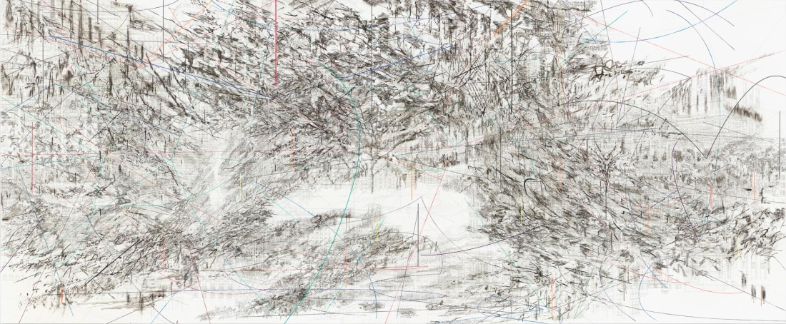 Julie Mehretu, Beloved (Cairo), 2013.