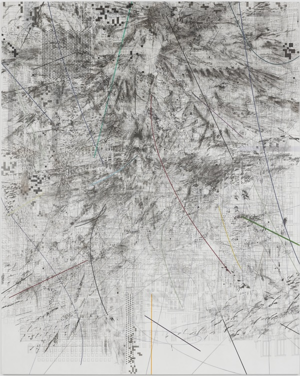 Julie Mehretu, Mogamma: Part 2, 2012.