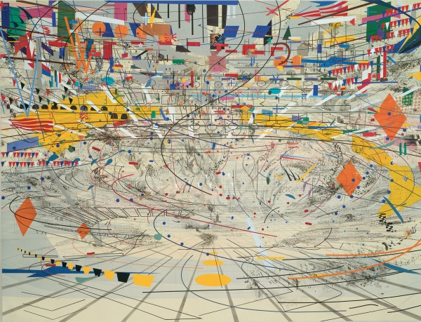 Julie Mehretu, Stadia II, 2004. Collection of the Carnegie Museum of Art, Pittsburgh.