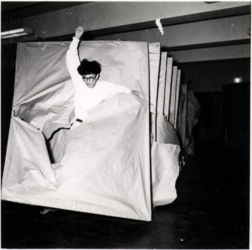 Murakami Saburō, Passing Through, 1956.