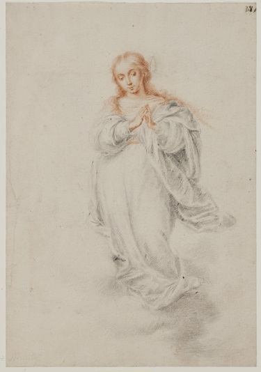 Murillo, Virgin of the Immaculate Conception, ca. 1665. Collection of the Statens Museum for Kunst, Copenhagen.