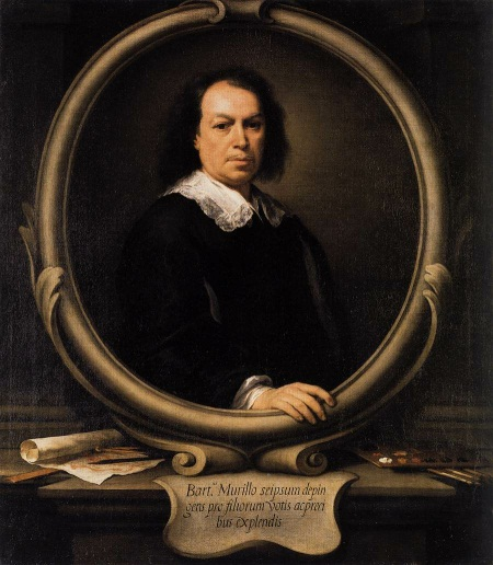 Murillo, Self-Portrait, ca. 1670-73. Collection of The National Gallery, London.