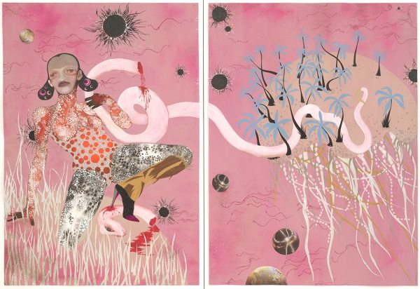 Wangechi Mutu, Yo Mama, 2003. Collection of the Museum of Modern Art, New York.