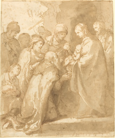 Murillo, The Adoration of the Magi, ca. 1650-56. Collection of the National Gallery of Art, Washington.