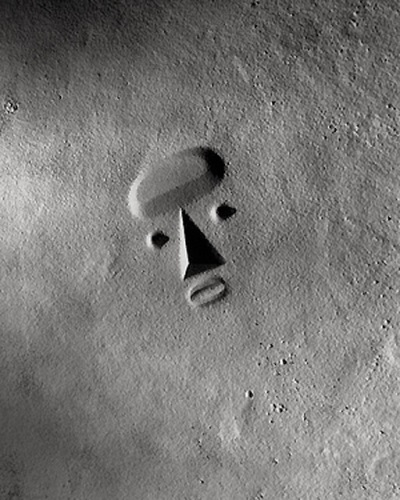 Isamu Noguchi, Sculpture to be Seen From Mars (model), 1947.