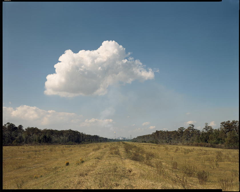 Richard Misrach, Norco Cumulus Cloud, Shell Oil Refinery, Norco, Louisiana, 1998.