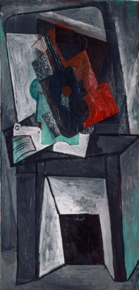 Pablo Picasso, Fireplace, 1916-17. Collection of the St. Louis Art Museum.