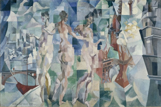 Robert Delaunay, The City of Paris, 1910-12. Collection of the Centre Georges Pompidou, Musee National d'Art Moderne, Paris.