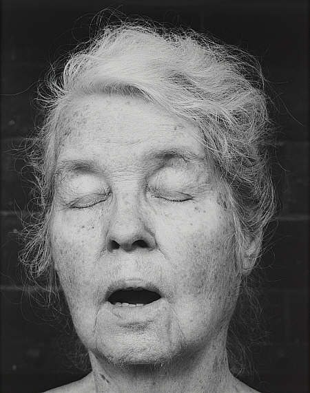 Robert Mapplethorpe, Alice Neel, 1984.