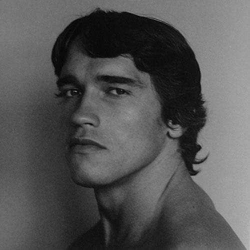 Robert Mapplethorpe, Arnold Schwarzenegger, 1976.