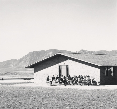 "Robert Adams, Sunday school class, Colorado Springs, Colorado, from the series ""The New West,"" 1968-71."