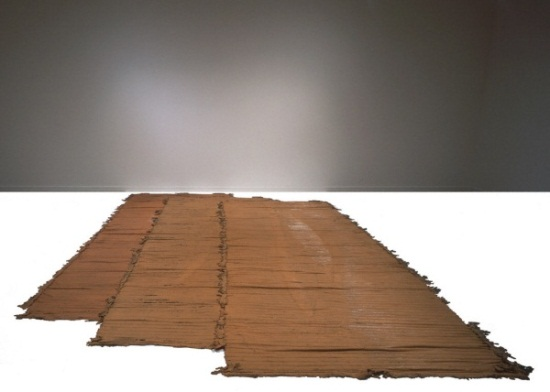 Richard Serra, Untitled, 1968. Collection of the St. Louis Art Museum.