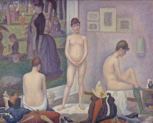 Georges Seurat, Models, 1886-88.