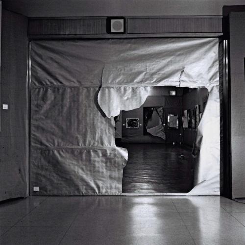 Saburo Murakami, Entrance, 1955.