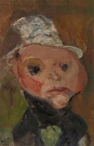 Chaim Soutine, The White Hat, ca. 1923.