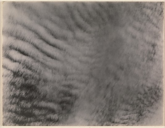 Alfred Stieglitz, Equivalents, 1927. Collection of the Metropolitan Museum of Art, New York.