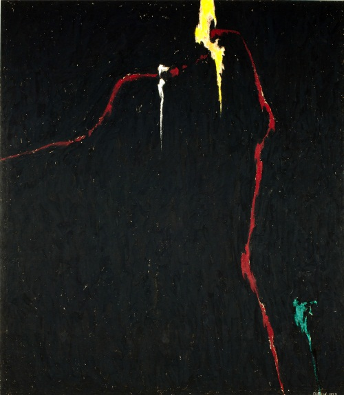 Clyfford Still, 1944-N No. 1, 1944. Collection of the Clyfford Still Museum, Denver.