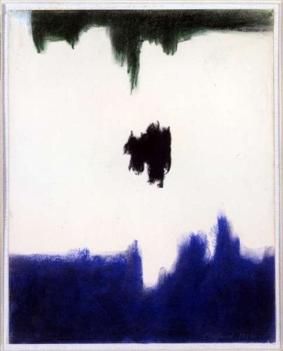 Clyfford Still, Untitled, 1956. Collection of the Museum of Contemporary Art, Los Angeles.