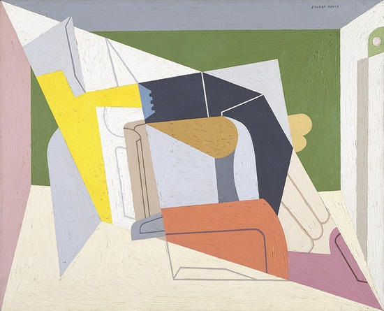 Stuart Davis, Egg Beater No. 2, 1928. Collection of the Amon Carter Museum of American Art, Fort Worth, Tex.
