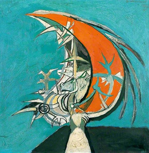 Graham Sutherland, Thorn Head, 1947. Collection of the Pallant House Gallery, Chichester, England.