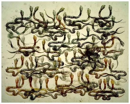 Philip Taaffe, Monocled Cobra, 1996.