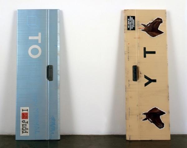 Kaz Oshiro, Tailgate (TO) and Tailgate (YT), 2006.
