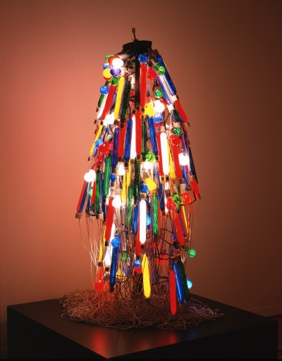 Tanaka Atsuko, Electric Dress, 1956 (refabricated 1986). Collection of the Takamatsu City Museum of Art, Japan.