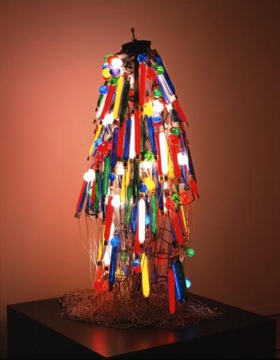 Tanaka Atsuko, Electric Dress, 1956 (refabricated 1986). Collection of the Takamatsu City Museum of Art, Japan.